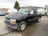 2000 Onyx Black Chevrolet Silverado 1500 LS Regular Cab 4x4 #102814420