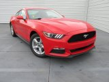 2015 Race Red Ford Mustang V6 Coupe #102814598