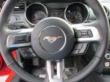 2015 Ford Mustang V6 Coupe Steering Wheel