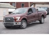 2015 Bronze Fire Metallic Ford F150 XLT SuperCab 4x4 #102814516