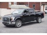 2015 Tuxedo Black Metallic Ford F150 XLT SuperCrew 4x4 #102814514