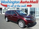 2012 Basque Red Pearl II Honda CR-V EX 4WD #102814463
