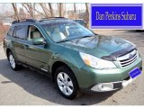 2012 Cypress Green Pearl Subaru Outback 2.5i Limited #102814357