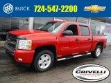 2009 Victory Red Chevrolet Silverado 1500 LT Z71 Crew Cab 4x4 #102845536