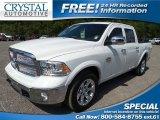 2014 Bright White Ram 1500 Laramie Longhorn Crew Cab #102845598