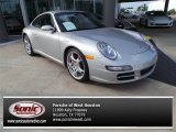 2008 Arctic Silver Metallic Porsche 911 Carrera S Coupe #102845439