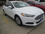 2015 Oxford White Ford Fusion S #102884383