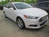 2015 White Platinum Metallic Ford Fusion SE #102884371