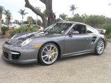 2008 Meteor Grey Metallic Porsche 911 GT2 #1016928