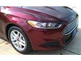 2015 Bronze Fire Metallic Ford Fusion SE #102884365