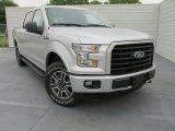 2015 Ingot Silver Metallic Ford F150 XLT SuperCrew 4x4 #102884652