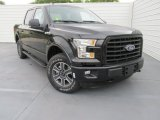 2015 Tuxedo Black Metallic Ford F150 XLT SuperCrew 4x4 #102884651
