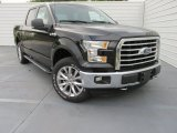 2015 Tuxedo Black Metallic Ford F150 XLT SuperCrew 4x4 #102884649