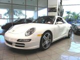 2008 Carrara White Porsche 911 Targa 4S #1016877