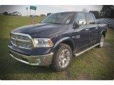2015 True Blue Pearl Ram 1500 Laramie Crew Cab #102884591
