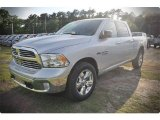 2015 Bright Silver Metallic Ram 1500 Big Horn Crew Cab 4x4 #102884583