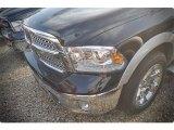 2015 Black Ram 1500 Laramie Crew Cab #102884579