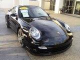 2007 Black Porsche 911 Turbo Coupe #1016909