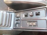 1986 Dodge Daytona Turbo Z CS Controls