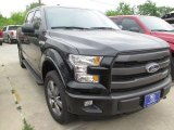 2015 Tuxedo Black Metallic Ford F150 Lariat SuperCrew 4x4 #102924005