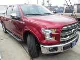 2015 Ruby Red Metallic Ford F150 Lariat SuperCrew #102923999