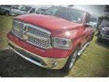 2015 Flame Red Ram 1500 Laramie Crew Cab #102924126