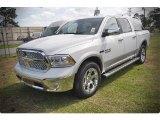 2015 Bright White Ram 1500 Laramie Crew Cab #102924116