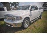 2015 Bright White Ram 1500 Laramie Crew Cab 4x4 #102924111