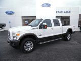 2015 White Platinum Ford F250 Super Duty King Ranch Crew Cab 4x4 #102924435