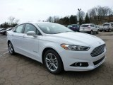 2015 Oxford White Ford Fusion Hybrid SE #102966217