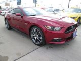 2015 Ruby Red Metallic Ford Mustang GT Premium Coupe #102966064