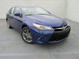 2015 Blue Crush Metallic Toyota Camry SE #102966347