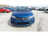 2015 Dyno Blue Pearl Honda Civic LX Sedan #102966188