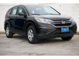2015 Crystal Black Pearl Honda CR-V LX #102966291