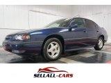 2001 Navy Blue Metallic Chevrolet Impala LS #103000906