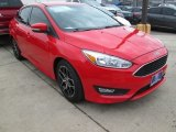 2015 Race Red Ford Focus SE Sedan #103020792