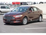2015 Bronze Fire Metallic Ford Fusion S #103020913