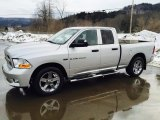 2012 Bright Silver Metallic Dodge Ram 1500 ST Quad Cab 4x4 #103021150