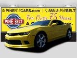 2015 Bright Yellow Chevrolet Camaro SS Coupe #103020713