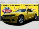 2015 Bright Yellow Chevrolet Camaro SS/RS Coupe #103020705
