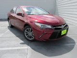 2015 Ruby Flare Pearl Toyota Camry SE #103020995