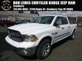2015 Bright White Ram 1500 Laramie Crew Cab 4x4 #103020802