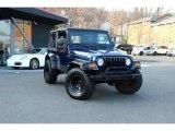 2006 Midnight Blue Pearl Jeep Wrangler Sport 4x4 #103020679