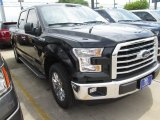 2015 Tuxedo Black Metallic Ford F150 XLT SuperCrew #103020795