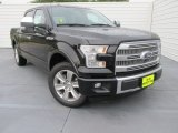 2015 Tuxedo Black Metallic Ford F150 Platinum SuperCrew #103050401