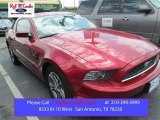 2014 Ruby Red Ford Mustang V6 Premium Coupe #103050235