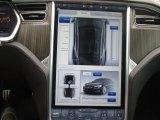 2013 Tesla Model S P85 Performance Controls
