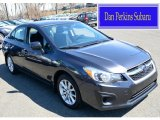 2012 Dark Gray Metallic Subaru Impreza 2.0i Premium 4 Door #103050178