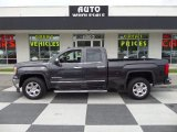 2014 Iridium Metallic GMC Sierra 1500 SLT Double Cab #103050477