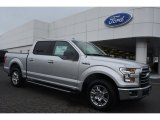 2015 Ingot Silver Metallic Ford F150 XLT SuperCrew #103050350